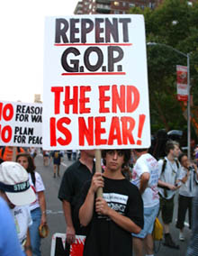 Repent GOP - The end is near