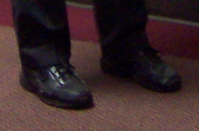 Ron Paul's Shoes