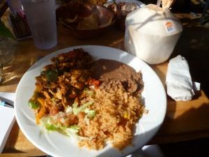 Vegan scramble at Rancho's