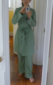 Robe and PJs