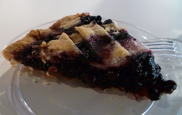 Blueberry Pie from A Piece of the Pie