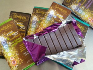 Sinless raw chocolate