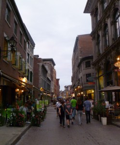 Old Port in Montreal