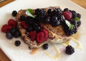 French toast at Plant